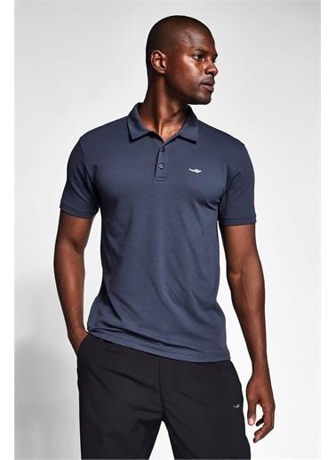 Lescon Antrasit Erkek Kısa Kollu Polo Yaka T-Shirt 21S-1275-21N Gri